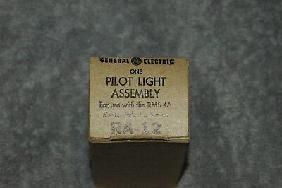 General Electric Ra-12 Pilot Light Assembly For Rms-4A Master Selector New !
