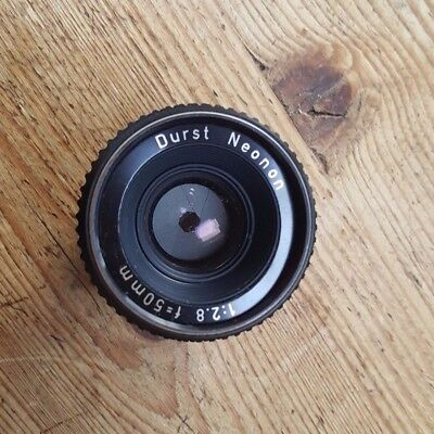 Rodenstock Durst Neonon Enlarger Lens F=50mm 1:2.8 - Used, excellent condition