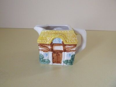 Small Moulded Cottage Cream Jug (69,115)