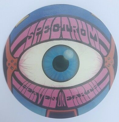 Rave Flyer Spectrum sticker. Heaven on earth. Given away when leaving June 1988.