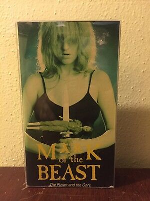 Mark Of The Beast VHS North American Emmeritus SOV canadian horror occult