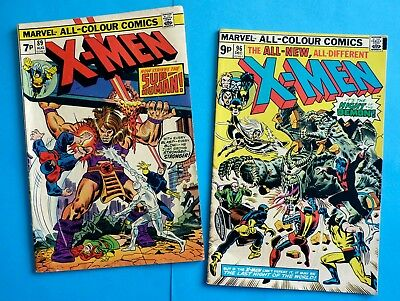 Marvel -  X-Men #96 - KEY - First Moira McTaggert & MK III Sentinels plus more!