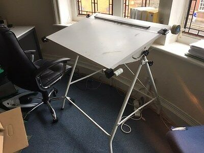 drawing board and draughtsman chair