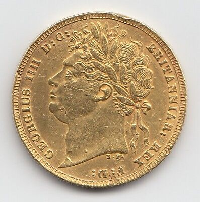 1821 George IV Gold Sovereign - Great Britain