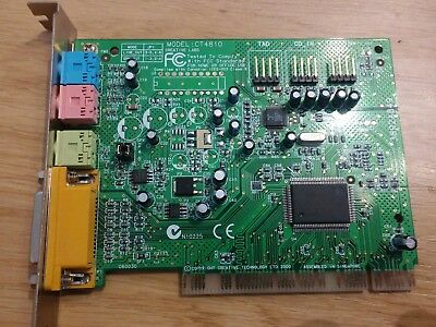 CREATIVE Soundblaster Pci