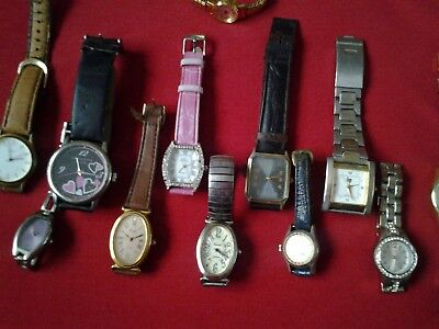 A selection of watches spare or repair