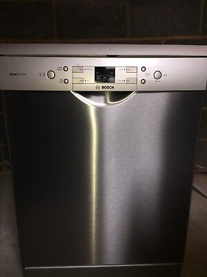 Bosch Dishwasher Silver Edition SMS40A08GB STAINLESS STEEL