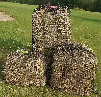 """Slow Feed Hay Bag, Net Style, 1"""" Mesh - WOVEN Nylon - Discontinued"""