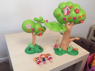 Lalaloopsy Tree House And Figures