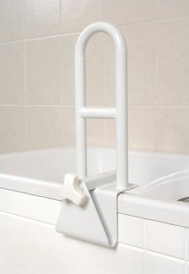 NRS Healthcare Bath Grab Support For bath sides measuring 85-180 mm 3.3 - 7 INCH