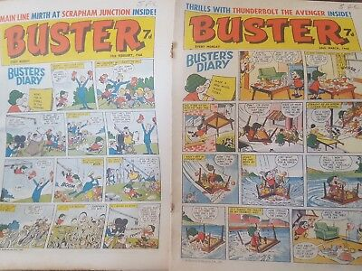 buster 2 copies from 1966 19 Feb & 26 march