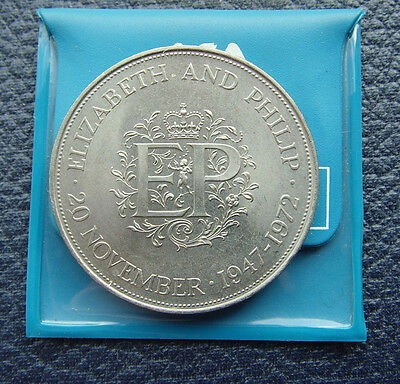 Great Britain 1972 Crown In Barclays Flip As Came From Bank