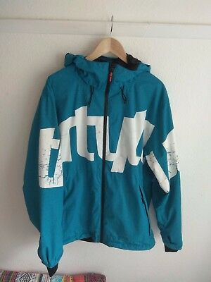 32 Thirty Two Lowdown 2 Jacket - Blue - XL - shell jacket - ski snowboard