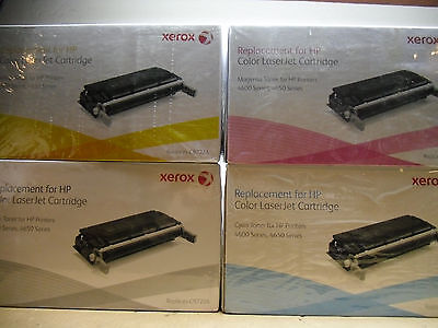 New Xerox Compatible C9720A C9721A C9722A C9723A B/C/Y/M Toner Cartridges