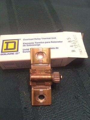 Lot of 12 Square D Overload Relay Thermal Units B 4.85 Brand new in box