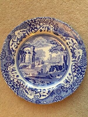 Spode Blue Italian China Side Plate. Immaculate Condition