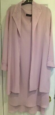 Pink Dress Suit. Size 18. Perfect For Wedding Or Special Occasion