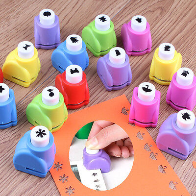 Craft DIY Scrapbooking Cards Making Paper Shaper Hole Punch Mini Cutter Toy Gift