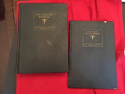 Parts I & II Air Service Medical Manual 1919  ORIGINAL WW1