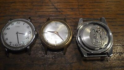 vintage watches job lot seiko and timex