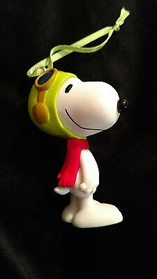 Peanuts Snoopy Pilot Christmas Ornament Flying Ace