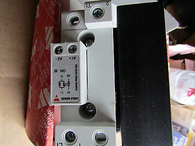 Carlo Gavazzi 70.4A SPST Solid State Relay Contactor - 240Vac Max - H7 7753063