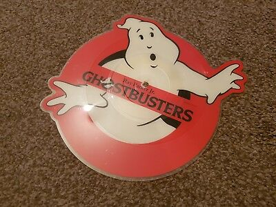 """Ray Parker jnr Ghostbusters 7"""" picture disc"""