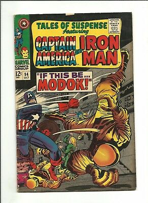 Tales of Suspense 94 1st appearance of MODOK 1967 Avengers Infinity War