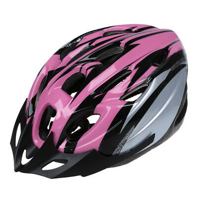 Cycling Bicycle Adult Bike Handsome Carbon Helmet with Visor Pink Head C3B6 H9D2