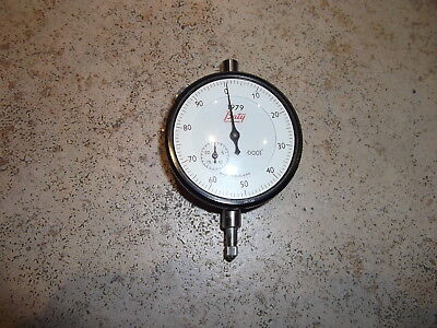 """Baty 1979 Imperial Dial Test Indicator .0001"""" Graduations Made In England"""