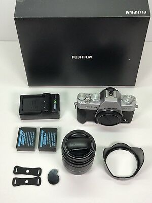 Used Fujifilm X-T20 digital camera with 16-50mm lens with 1 filter - Black