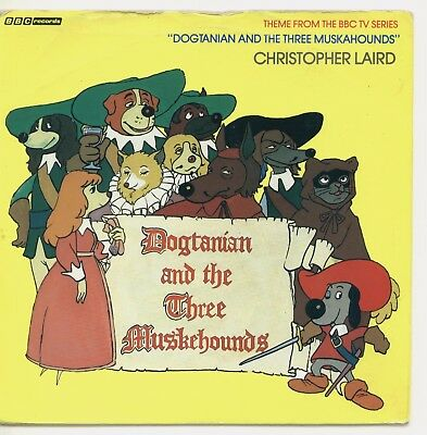 """Christopher Laird 'Dogtanian & The Three Muskehounds' (kid's 80's theme) 7"""""""