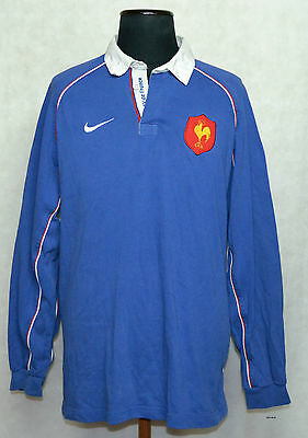 FRANCE 2002 Rugby Shirt Jersey Camiseta Rare Vintage