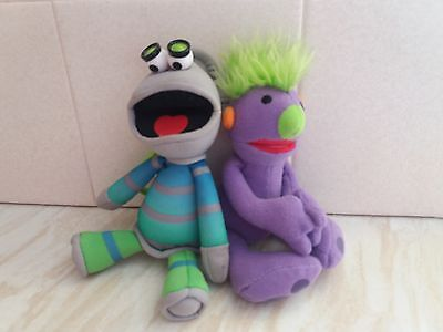 "McDonalds Hoobs toys, Iver & Tootle approx 7"" long"