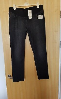 Next maternity jeans size 16 black New with tags