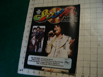 the Radio One STORY OF POP----the OSMONDS every teeny's dream Part 9, 1973