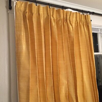 pleat pin curtain inverted window pinch curtains pinterest treatments