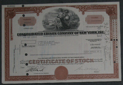 Consolidated Edison Company of New York, Inc. 1971 3 Shares .