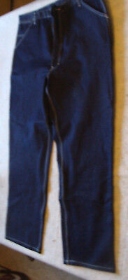 "unused ROEBUCKS carpender PANTS  40"" waist 46"" long dark"