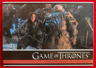 GAME OF THRONES - Season 4 - Card #27 - WATCHERS ON THE WALL - Rittenhouse 2015