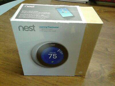 Nest Learning Thermostat - 3rd Generation - T3007ES - New