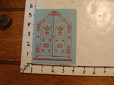 Vintage MARIONETTE Paper: the Travelling Puppet Troup Toy Cupboard