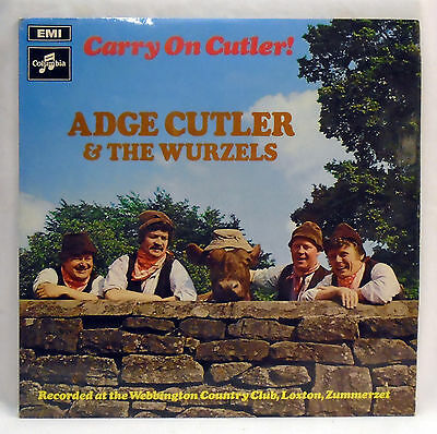 Adge Cutler & The Wurzels - Carry On Cutler - vinyl LP SX 6367  EX / EX