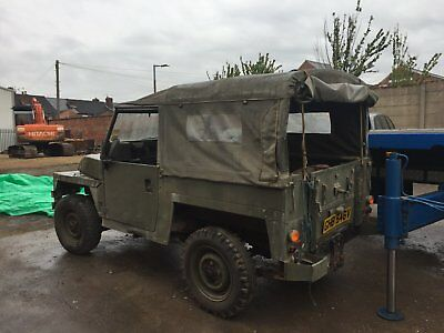 Land Rover Lightweight army land rover