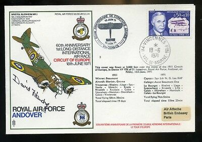1971 Air Race   RAF Cover Signed D Hendry 264 Sqn Battle of Britain