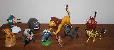 The Lion King Figures x 10 Just Play full set bundle