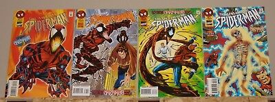 Web of Carnage complete Amazing Spider-Man 410, Spectacular 233, 2 more see list