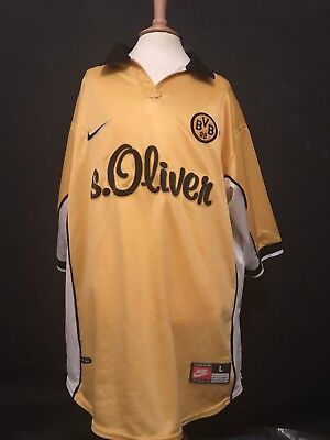 Borussia Dortmand 1998-2000 Home Football Shirt (Large)