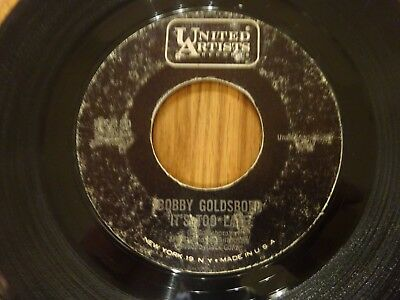 Northern Soul - Bobby Goldsboro - Its Too Late