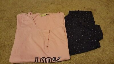 maternity pyjamas mother care size m